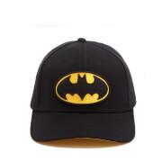 DC Comics Batman Men's Logo Cap - Black