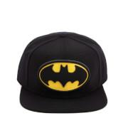 DC Comics Batman Men's Big Logo Snapback Cap - Black