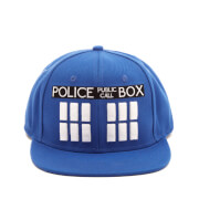 Doctor Who Men's Tardis Snapback Cap - Blue