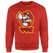 Nintendo Super Mario Mario Kanji Sweatshirt - Red