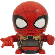 BulbBotz Marvel The Avengers: Infinity Wars Spider-Man Clock (5.5 Inches)