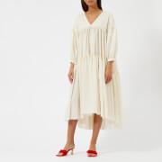 Rejina Pyo Women's Sara Dress - Rayon Thin Ivory - UK 10 - Cream