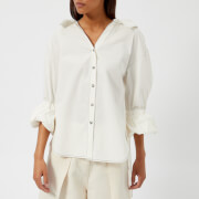Rejina Pyo Women's Amber Shirt - Cotton White - L - White