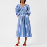 Rejina Pyo Women's Miriam Dress - Cotton Stripe - UK 10 - Blue