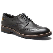 Wrangler Men's Boogie Leather Brogues - Black