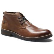 Wrangler Men's Boogie Leather Desert Boots - Rust - UK 6/EU 40 - Brown
