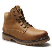 Wrangler Men's Yuma Leather Lace Up Boots - Camel