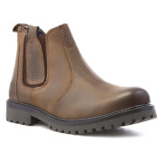Wrangler Men's Yuma Leather Chelsea Boots - Chesnut - UK 6/EU 40 - Brown