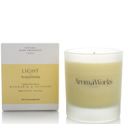 AromaWorks Light Range Candle - Mandarin and Vetivert 30cl фото