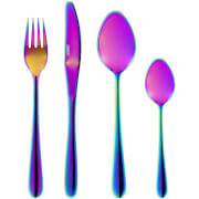 Tower 16pc Titanium Coated Cutlery