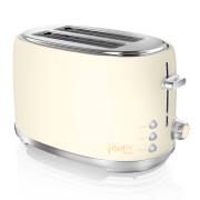 Swan Fearne By Swan ST20010HON Toaster in Honey