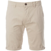 D-Struct Men's Miko Chino Shorts - Stone