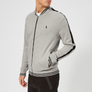 Polo Ralph Lauren Men's Bomber Collar Track Top - Andover Heather - L - Grey