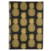 Sass & Belle Gold Pineapple Passport Holder