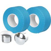 Image of Velox Tressostar Cotton Bar Tape - Caribbean Blue