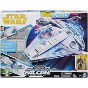 Solo: A Star Wars Story: Kessel Run Millennium Falcon & Han Solo Figure