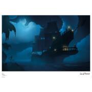 Affiche Sea Of Thieves - Clair de Lune - Édition Limitée (42 cm x 30 cm)