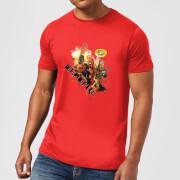 Camiseta Marvel Deadpool Outta The Way Nerd - Hombre - Rojo