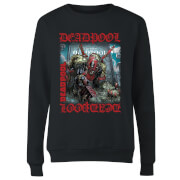 Marvel Deadpool Here Lies Deadpool Damen Pullover - Schwarz