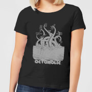 Beershield Octoholic Women's T-Shirt - Black