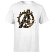 T-Shirt Homme Avengers Infinity War ( Marvel) Logo Avengers - Blanc