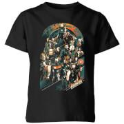 Marvel Avengers Infinity War Avengers Team Kids' T-Shirt - Black