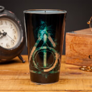 Harry Potter Deathly Hallows Glass