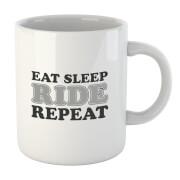 Eat Sleep Ride Repeat Mug