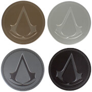 Assassin's Creed Set of 4 Metal Coasters