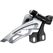 Shimano Deore M6000 Triple Front Derailleur - Front Pull - Side Swing - Mid Clamp