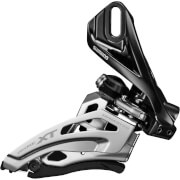 Shimano Deore XT M8025 Double Front Derailleur - High Clamp - Down Swing - Dual Pull