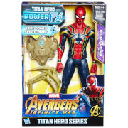 Hasbro Marvel Avengers Infinity War Titan Heroes Power FX Spider-Man Action Figure