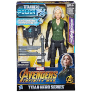 Hasbro Marvel Avengers Infinity War Titan Heroes Power FX Black Widow Action Figure