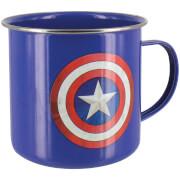 Tasse en Métal Captain America Marvel Avengers