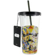 Star Wars Cup And Straw