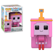 Figurine Pop Princesse Bumblegum - Adventure Time x Minecraft