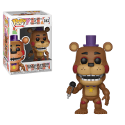 Five Nights at Freddy's Pizza Simulator Rockstar Freddy Pop! Vinyl Figure