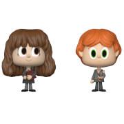 Figurines Vynl. Ron Weasley et Hermione Granger