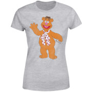Disney Muppets Fozzie Bear Classic Women's T-Shirt - Grey