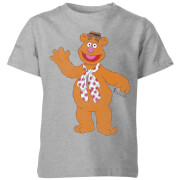 Disney Muppets Fozzie Bear Classic Kids' T-Shirt - Grey