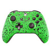 Xbox One S - 3D Green Splash