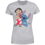 Disney Lilo & Stitch Classic Women's T-Shirt - Grey
