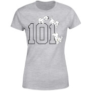 Disney 101 Dalmatians 101 Doggies Women's T-Shirt - Grey
