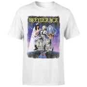 Beetlejuice Distressed Poster T-Shirt - Weiß