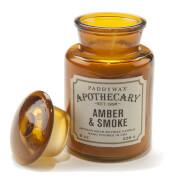 Paddywax Apothecary 8oz - Amber & Smoke
