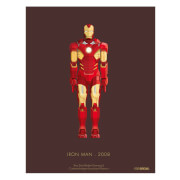 Affiche Iron Man - Marvel