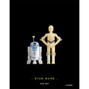 Affiche Droïdes Star Wars