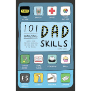 101 Amazing Dad Skills Hardback Book