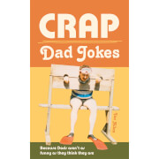 Crap Dad Jokes Hardback Book