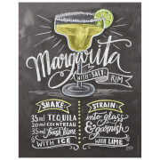 Lily & Val Margarita Print